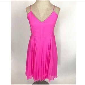 ASOS Hot Pink Fit & Flare Summer Dress size 6